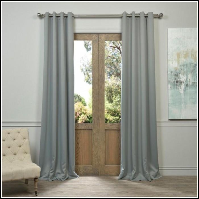Light Grey Curtain Panels