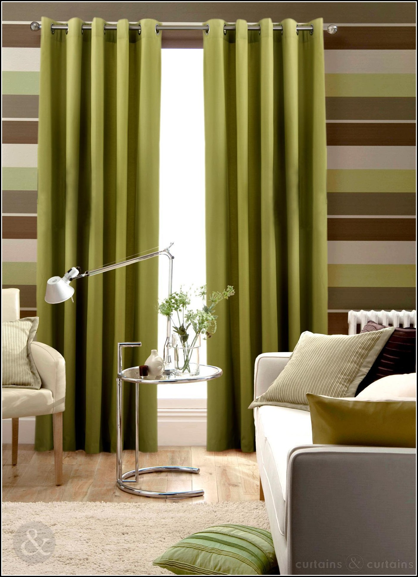 Lime green and brown striped curtains download page home design ideas galleries home design for Lime green curtains for bedroom