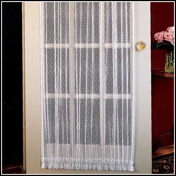 Magnetic Curtain Rod For French Door