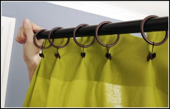 Making Curtains With Clip Rings