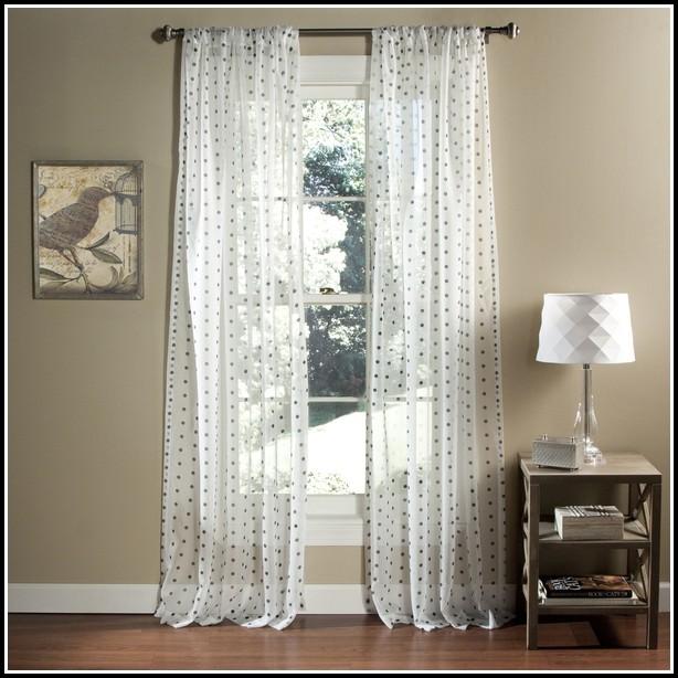 Multi Polka Dot Curtain Panels