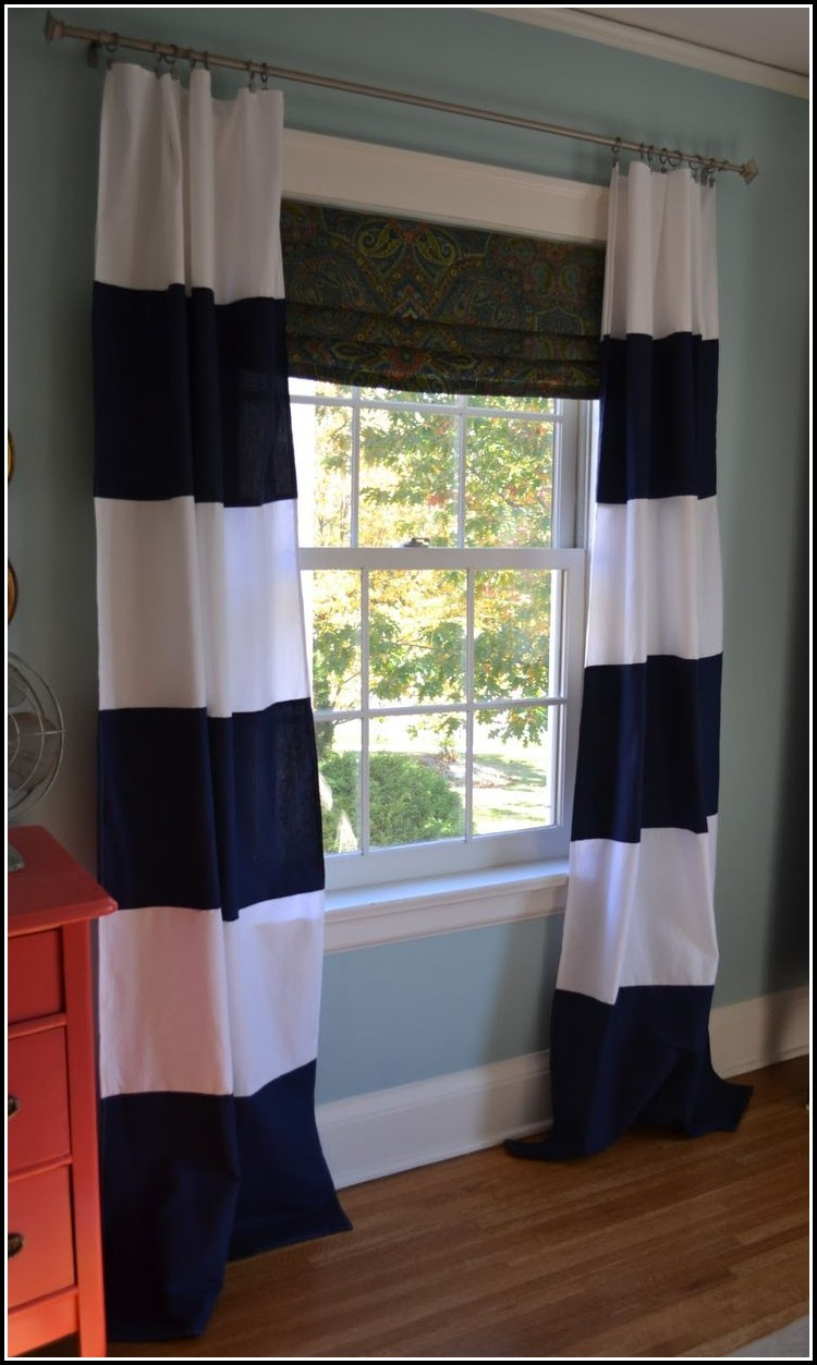 Navy And White Striped Curtain Panels Download Page Home Design Ideas Galleries Home Design