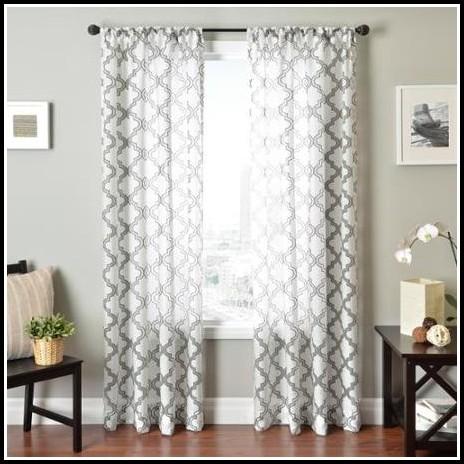 Nirvano Rod Pocket 108 Inch Curtain Panel