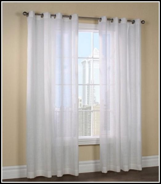 Semi Sheer Tab Top Curtains Curtains Home Design Ideas