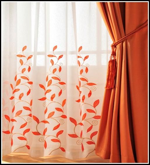 Orange And White Curtains Panels Curtains Home Design Ideas Qvp23vxnrg29120
