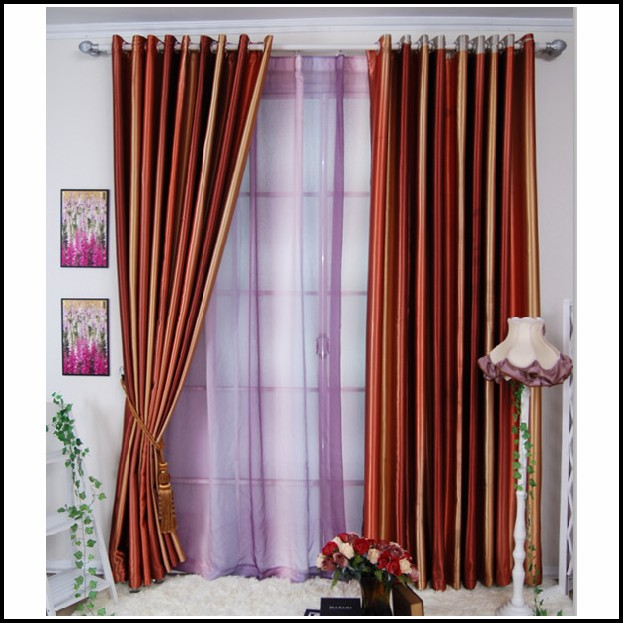 Green Walls And Orange Curtains Curtains Home Design