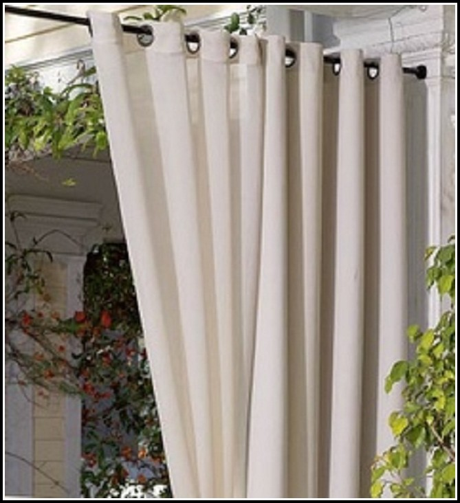 Outdoor Curtain Rods Extra Long Best Home Design 2018