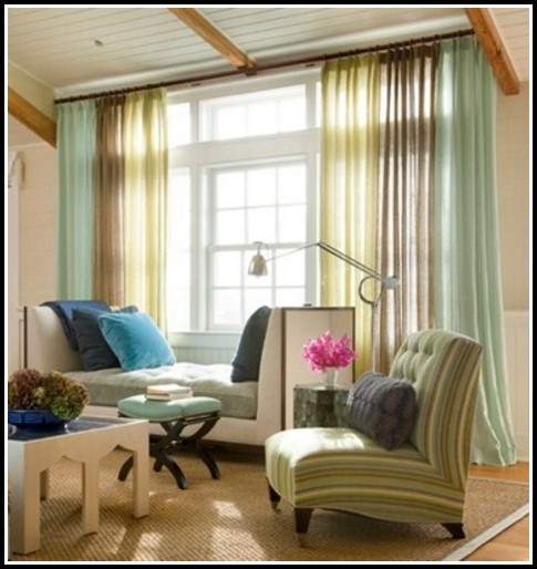 Pretty curtains living room