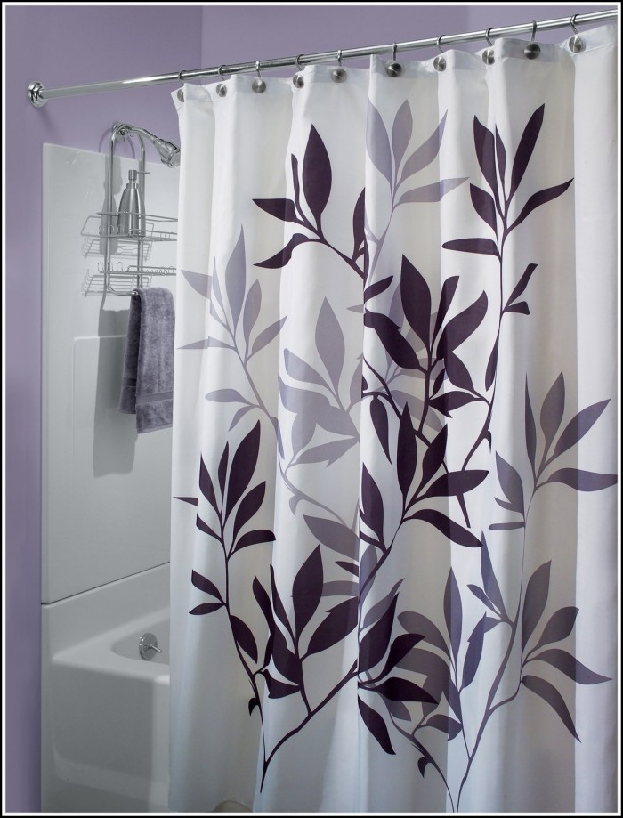 Purple And Blue Window Curtains