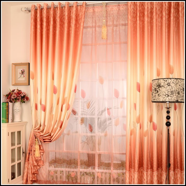 Red And Orange Striped Curtains Download Page Home