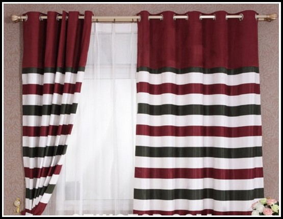 Red Curtains Bedroom Ideas