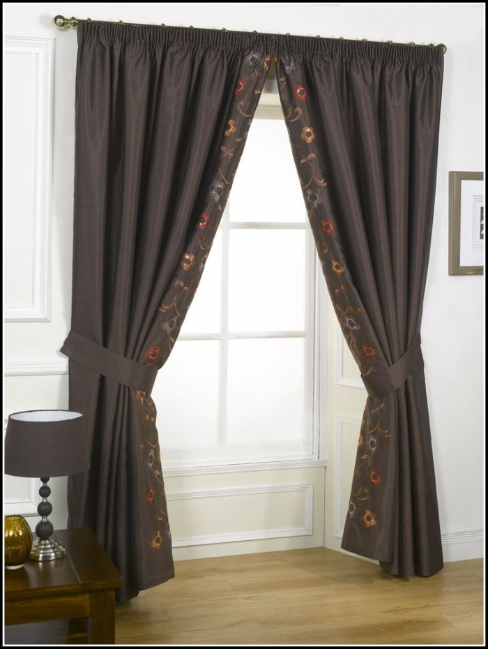 Red Tab Top Curtains Uk