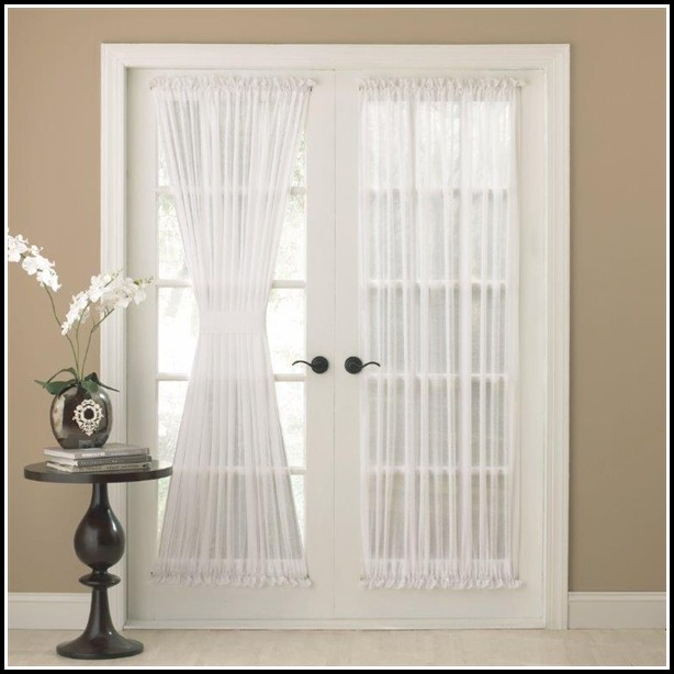 Rod Pocket Panel Sheer Curtains
