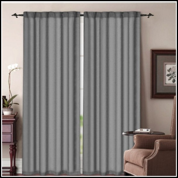Rod Pocket Sidelight Panel Curtains