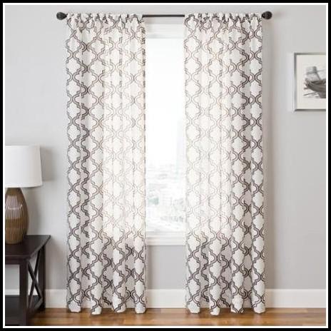 Sahara Rod Pocket 108 Inch Curtain Panel