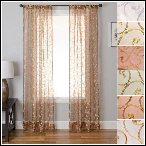Sheer Curtains 54 Inches Long