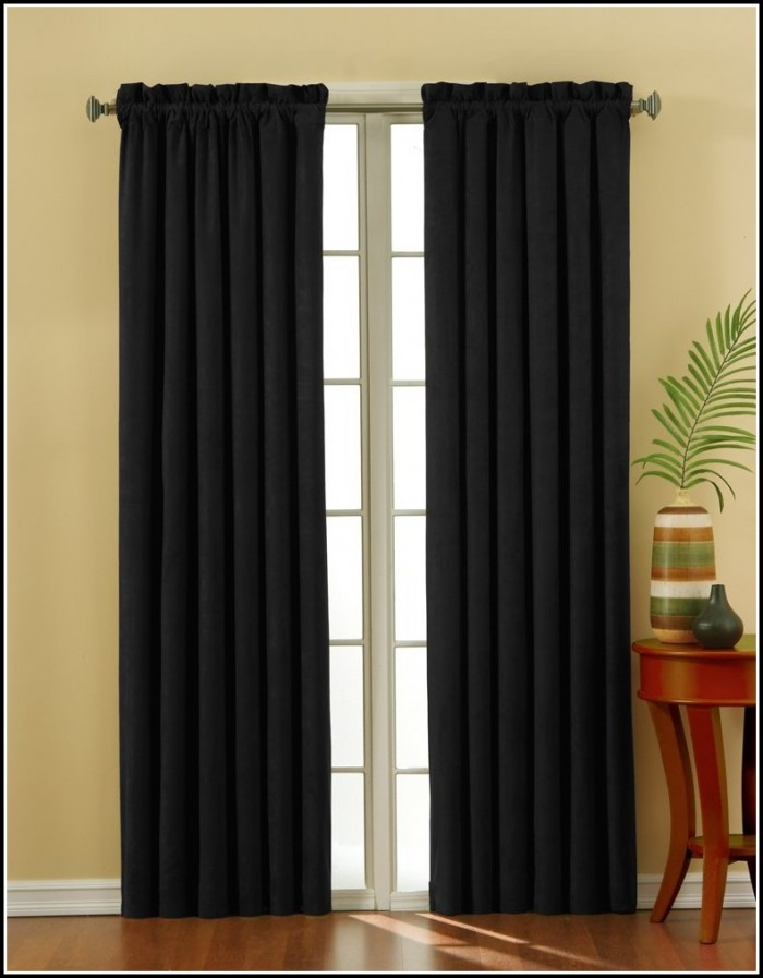 Sliding Door Blackout Curtains