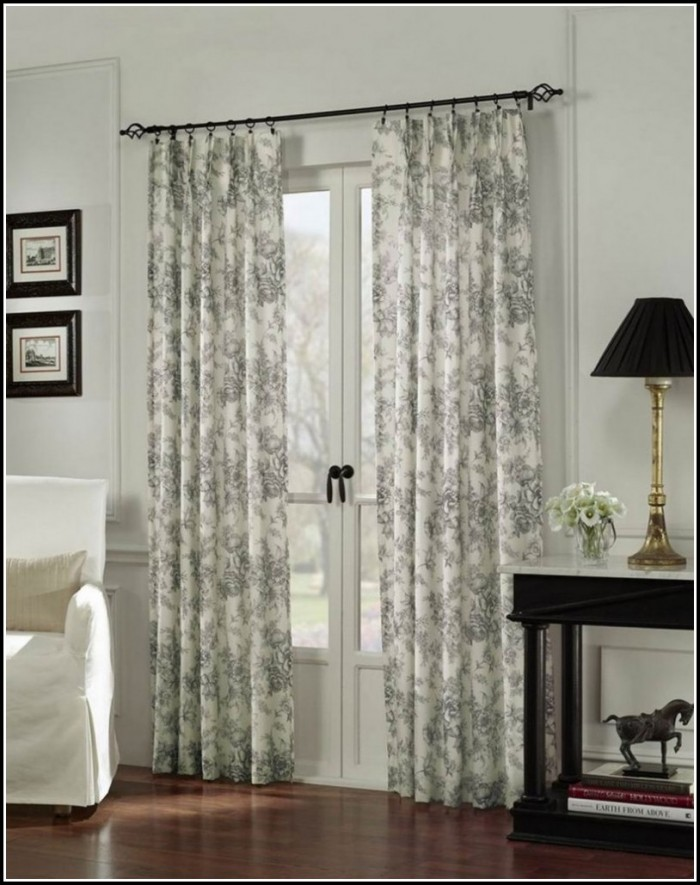 Sliding Glass Door Thermal Curtains