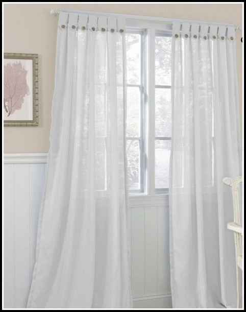 Tab Top Linen Curtains Uk