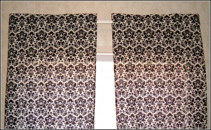 White Blackout Curtain Panels