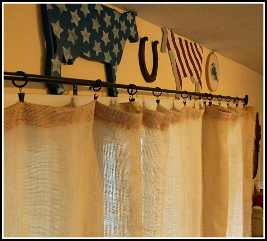 White Clip Rings For Curtains