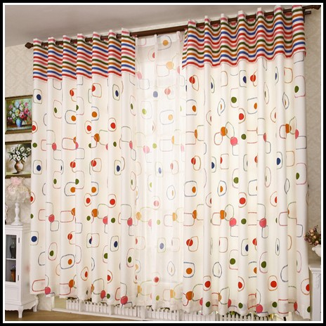 White Polka Dot Curtains Target