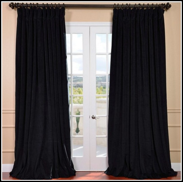 Wide Pocket Curtain Rod Walmart Download Page Home