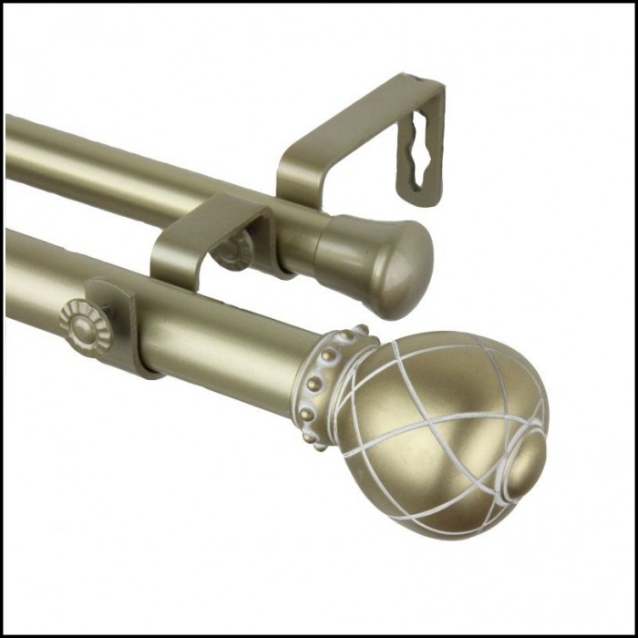 Window Hardware Double Curtain Rod