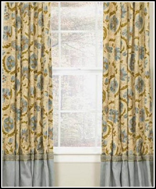 Yellow And Gray Bathroom Window Curtains