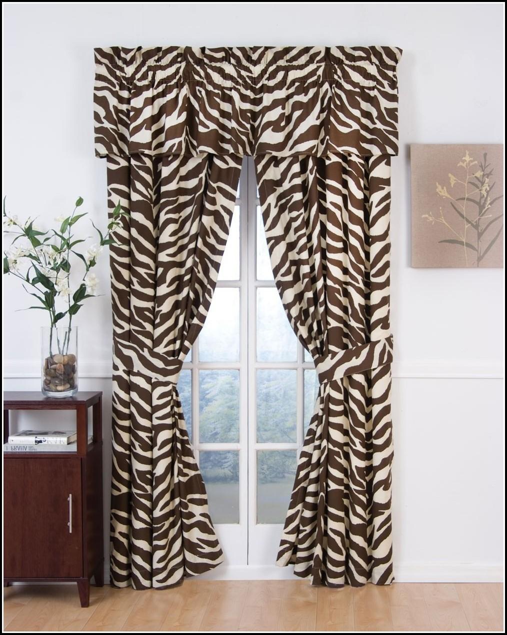 Animal Print Sheer Curtain Panels Curtains Home Design
