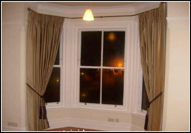 Bay Window Curtain Rods Target Download Page Home Design