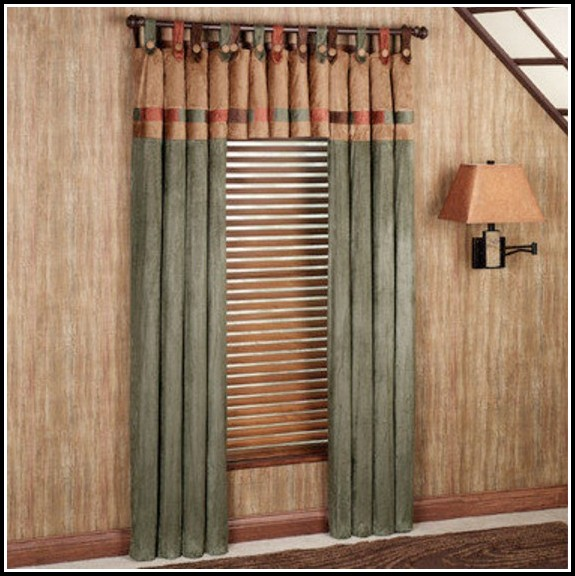 Button Tab Top Curtain Pattern Curtains Home Design