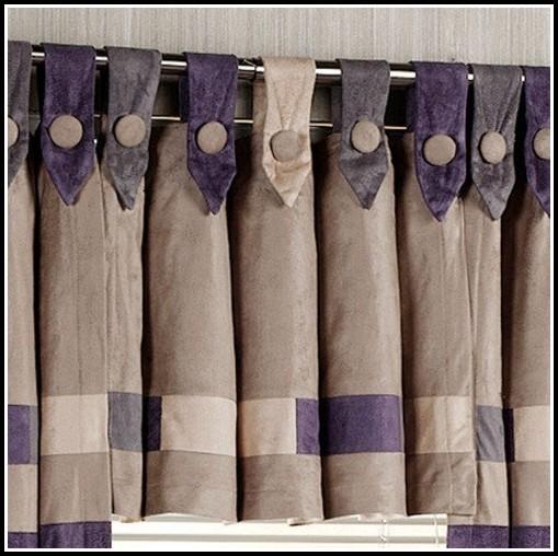 Button Tab Top Curtain Pattern Curtains Home Design