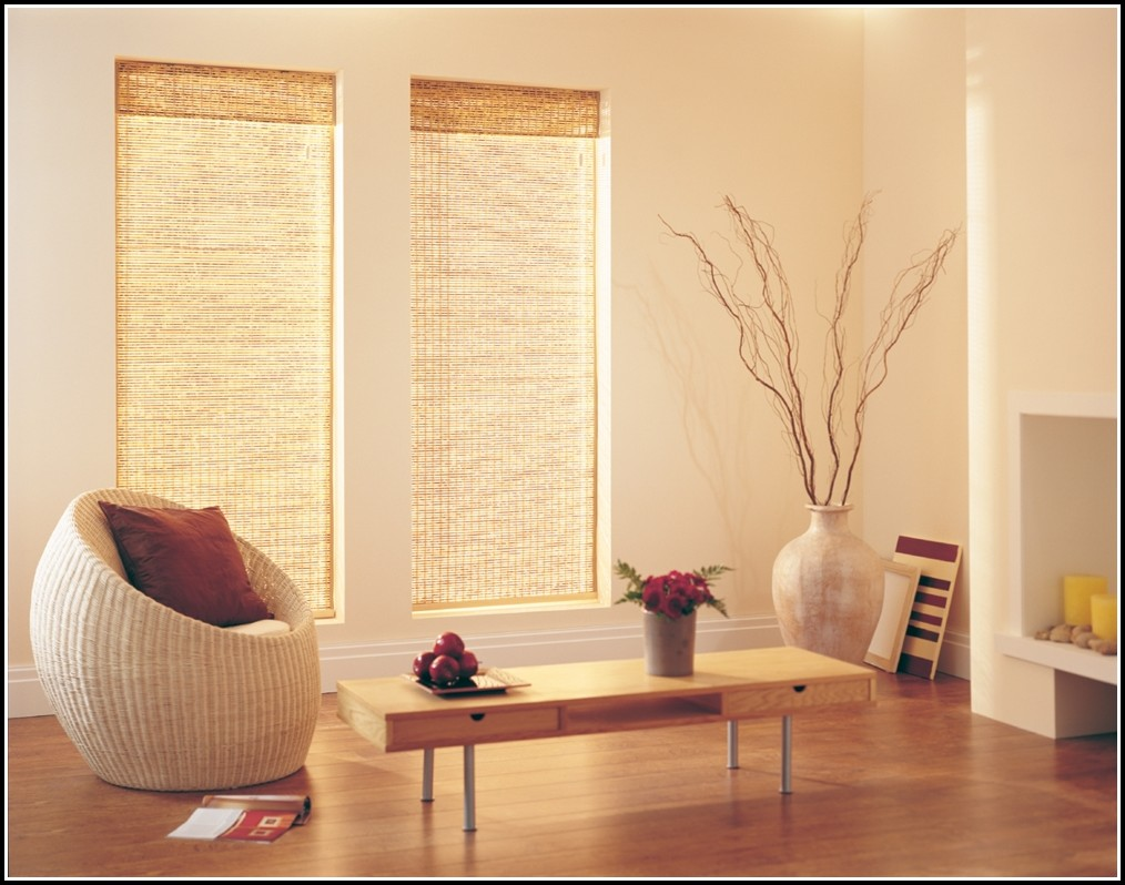 Can You Use Curtains With Wood Blinds