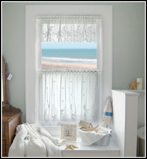 Curtain ideas for small bathroom window curtains home Curtain ideas for short windows