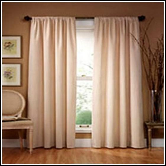 Drape Lengths: Standard Length Of Curtains Windows