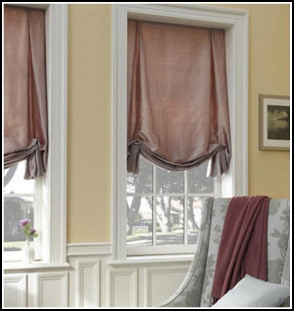 Curtains Over Roman Shades