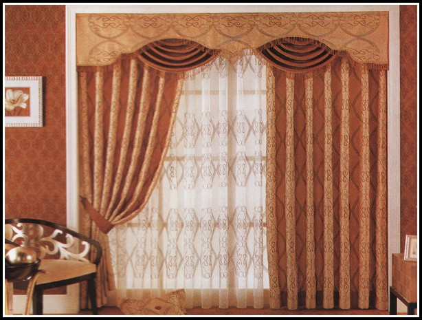 Curtains Over Wood Blinds