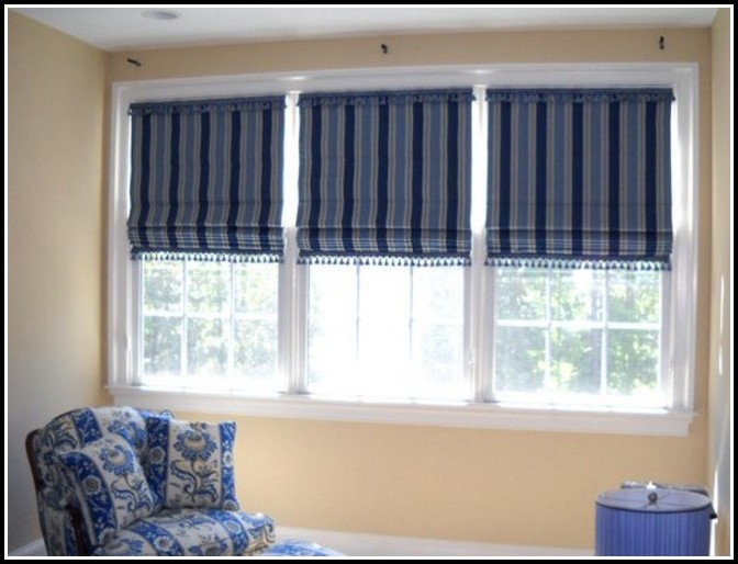 Do You Use Curtains With Roman Shades