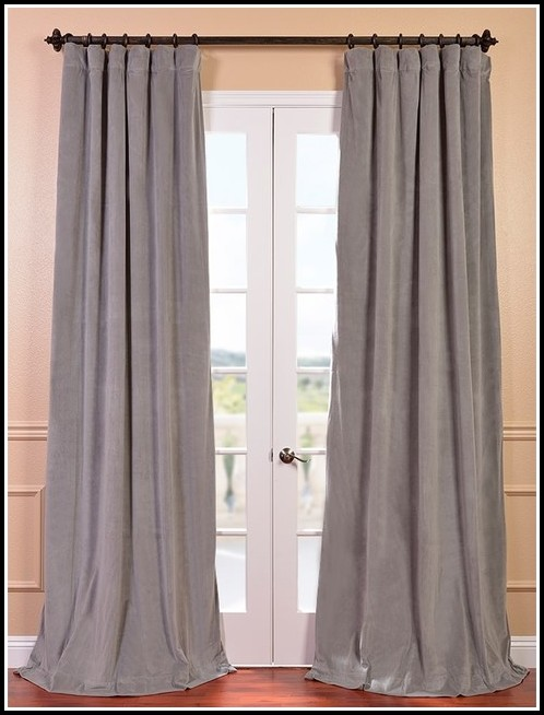 White And Grey Blackout Curtains Curtains Home Design