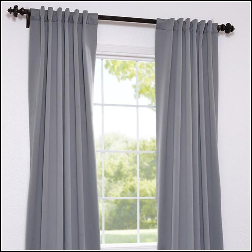 Grey Blackout Curtains Walmart Home Design