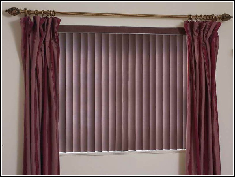 Hang Curtains Over Wood Blinds Curtains Home Design Ideas Ojn3rybpxw38116