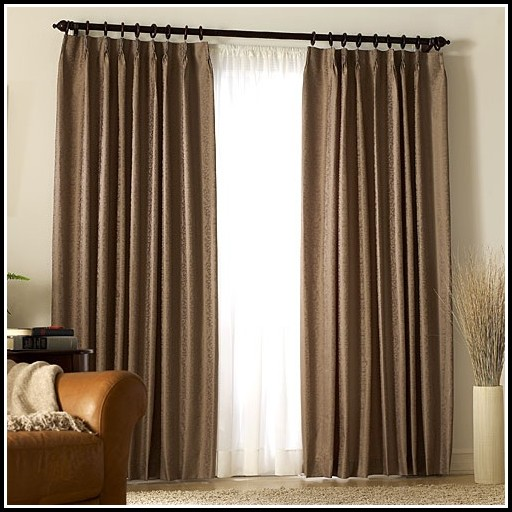 Insulated Sliding Door Curtains