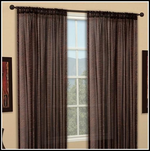 Semi Sheer White Curtain Panels Curtains Home Design