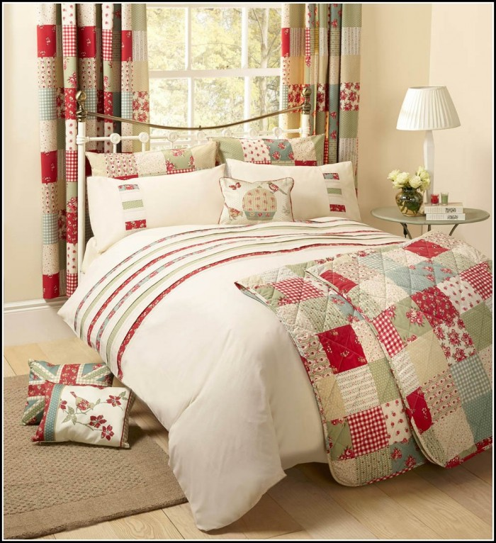 Matching Curtain And Bedding Sets
