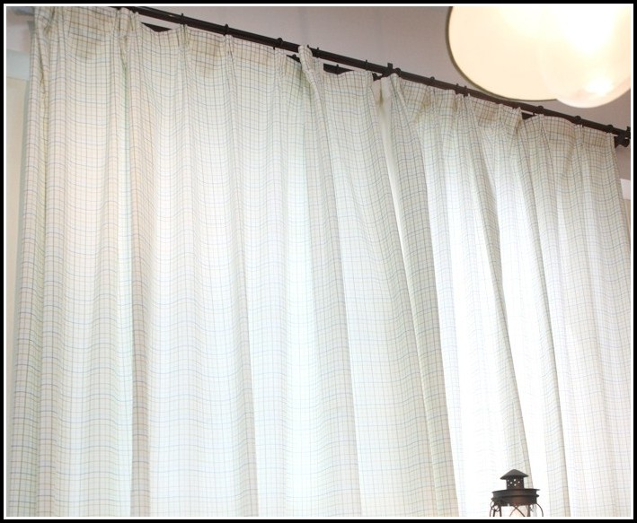 Tab Top White Net Curtains
