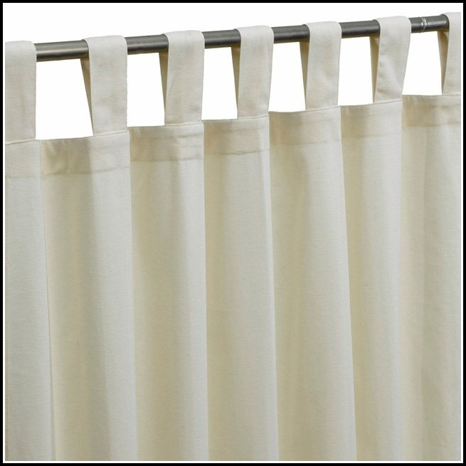Blackout Curtains White Cotton Curtains Home Design
