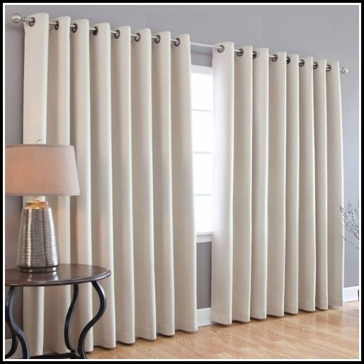 Wide Width Grommet Curtain Panels Bing Images