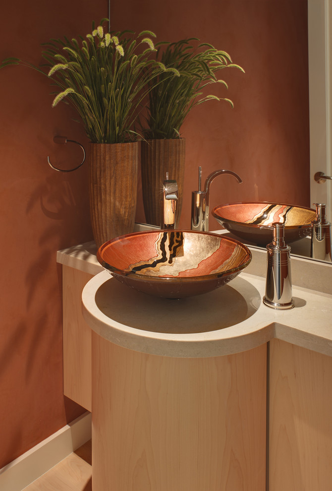 12 Inch Copper Vessel Sink