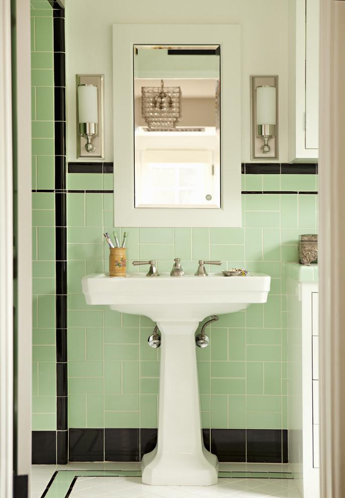 24 Inch White Pedestal Sink